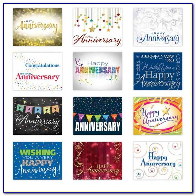 Assorted Greeting Cards For Employees