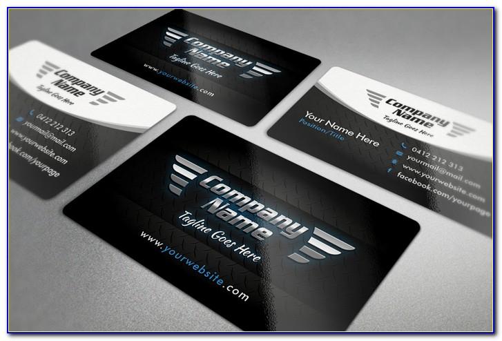 Auto Mechanic Business Card Template