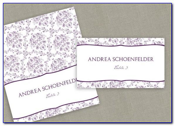 Avery Place Card Template 5012