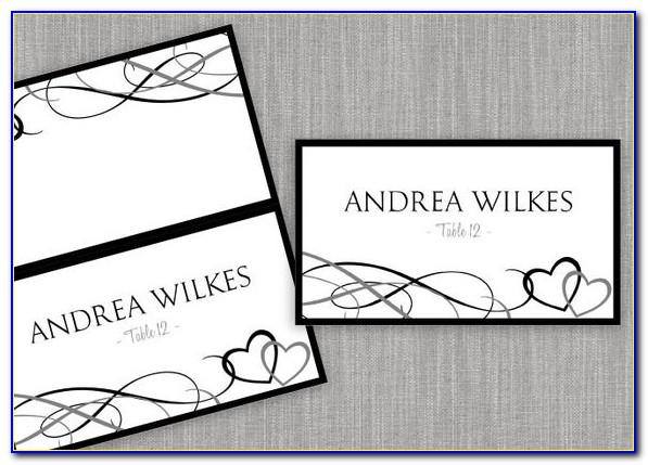 Avery Place Card Templates 6 Per Sheet