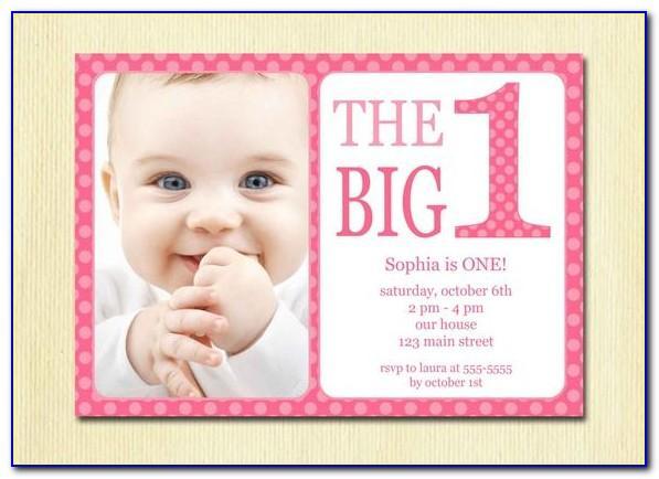 Baby Birthday Invitation Card In Tamil