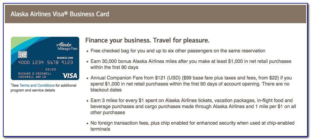 Bank Of America Platinum Business Credit Card