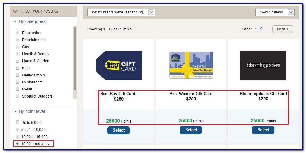 Bank Of America Worldpoints Rewards For Business Visa Card