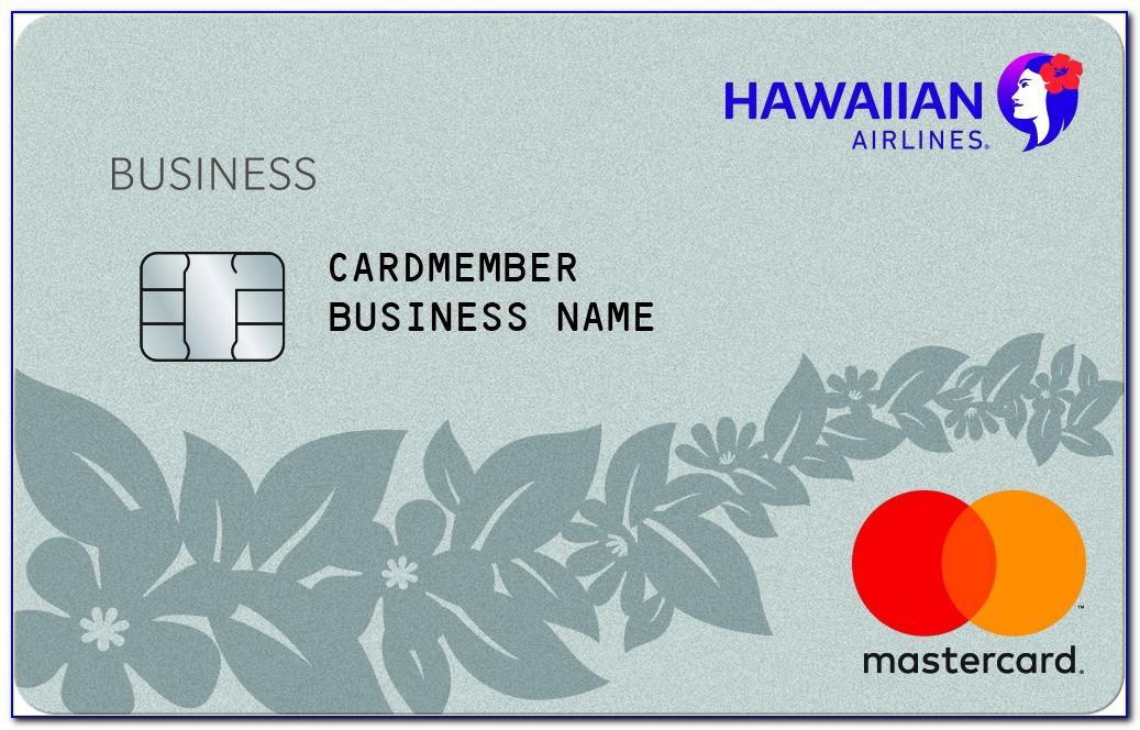 Barclay Hawaiian Business Card