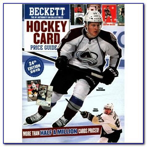 Beckett Hockey Card Price Guide Free
