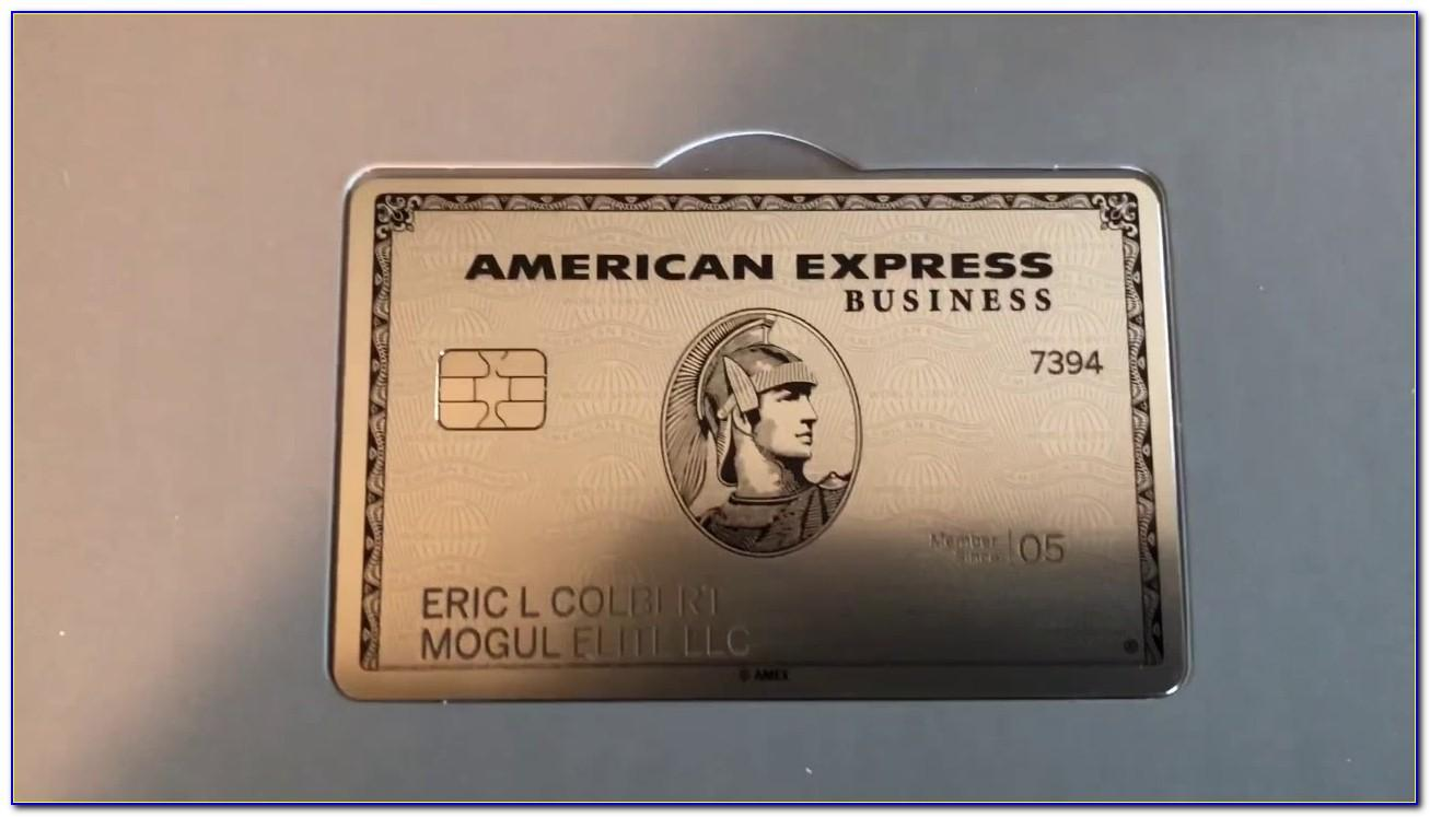 Benefits Business Platinum Card From American Express