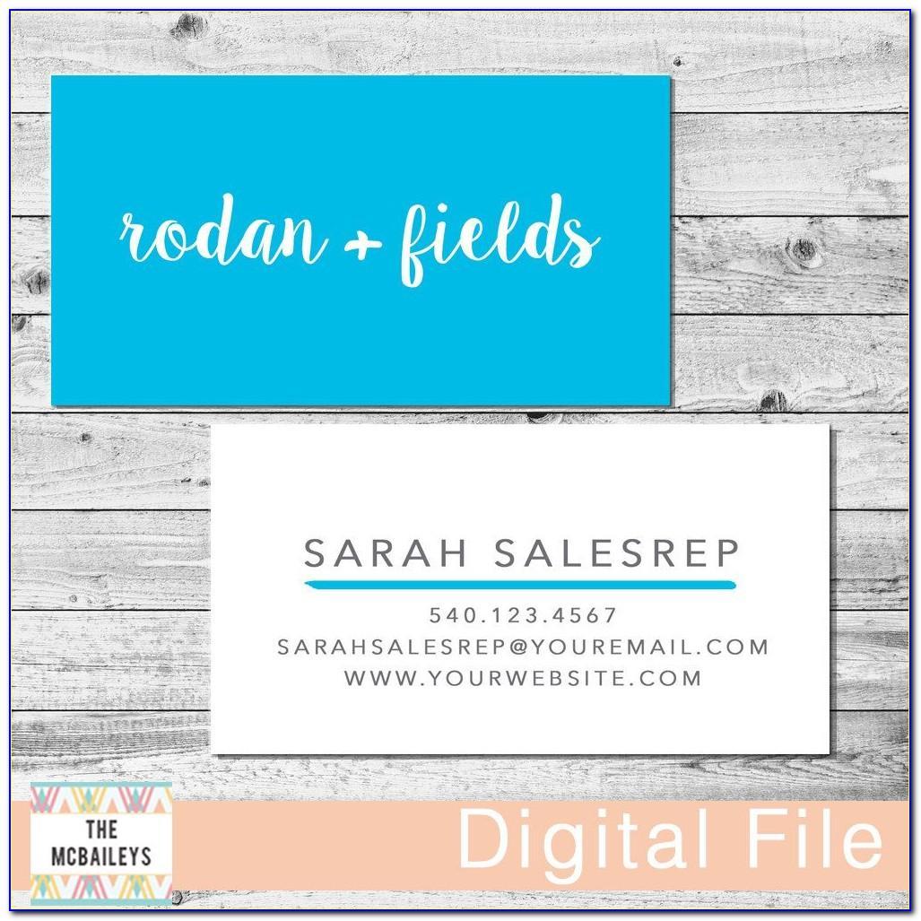 Best Rodan And Fields Business Cards