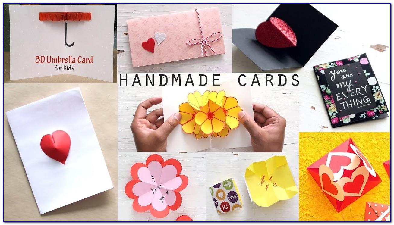 Birthday Card Arts And Crafts Ideas