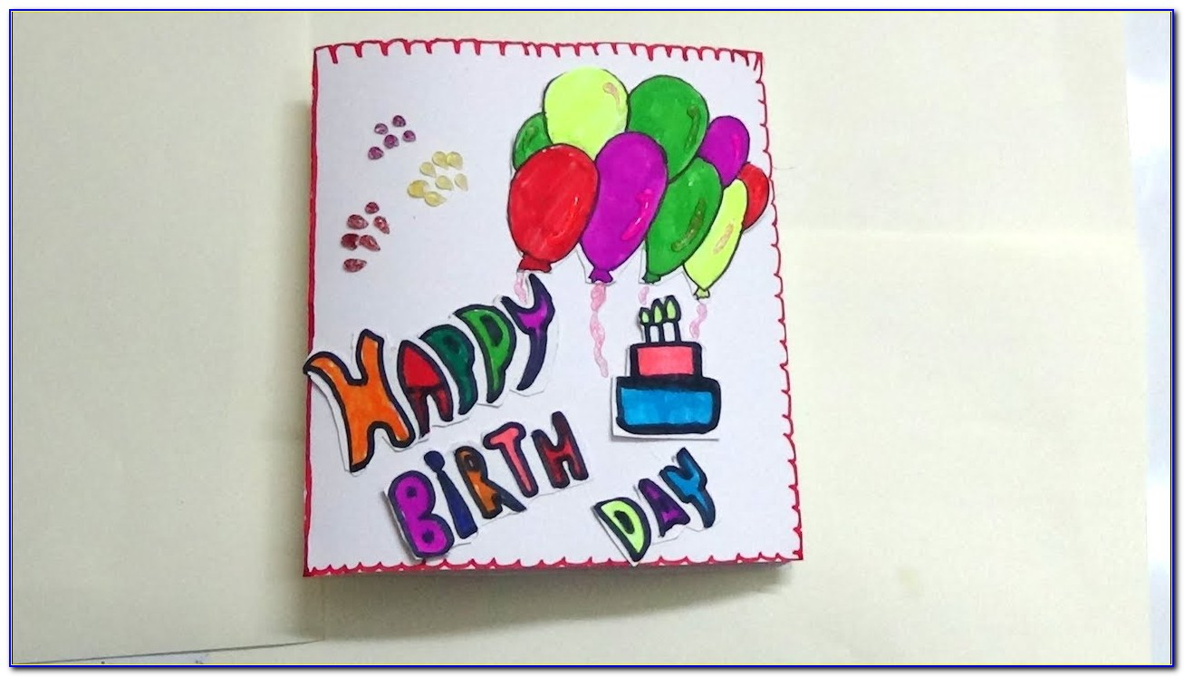 Birthday Card Artwork Free