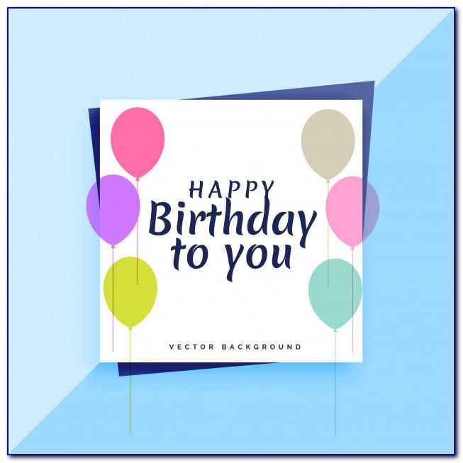 Birthday Card Cdr