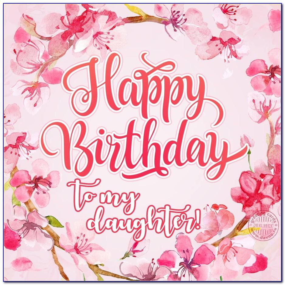 Birthday Card For Daughter Free Download