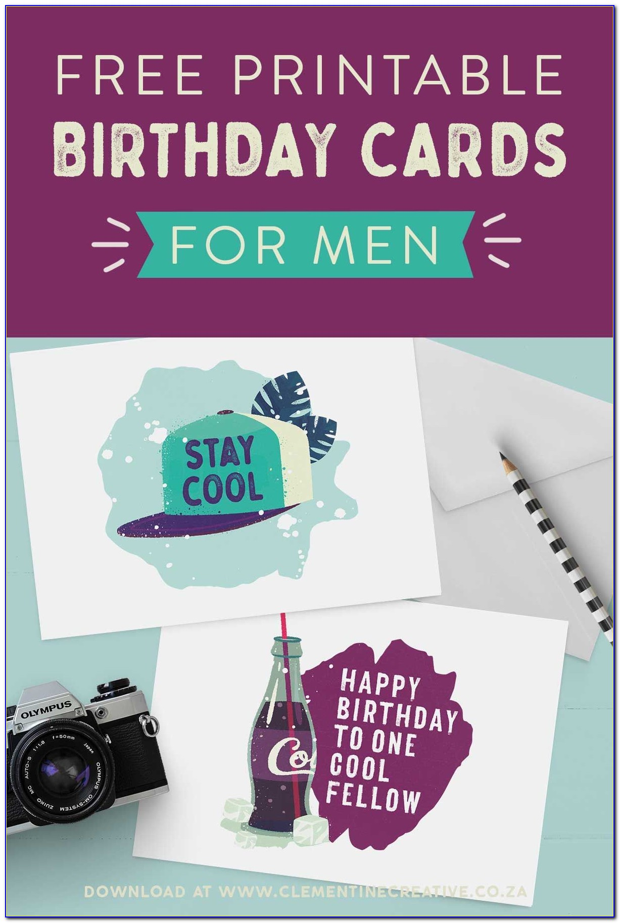 Birthday Card For Him Free Download
