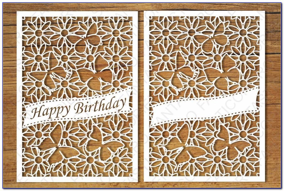 Birthday Card Svg Download