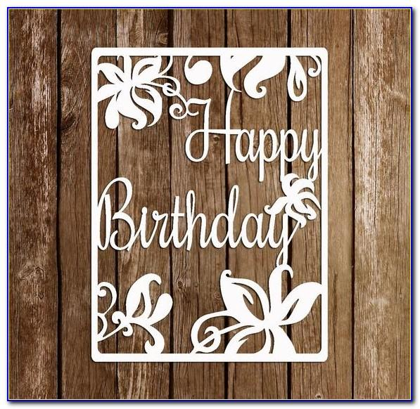 Birthday Card Svg Files