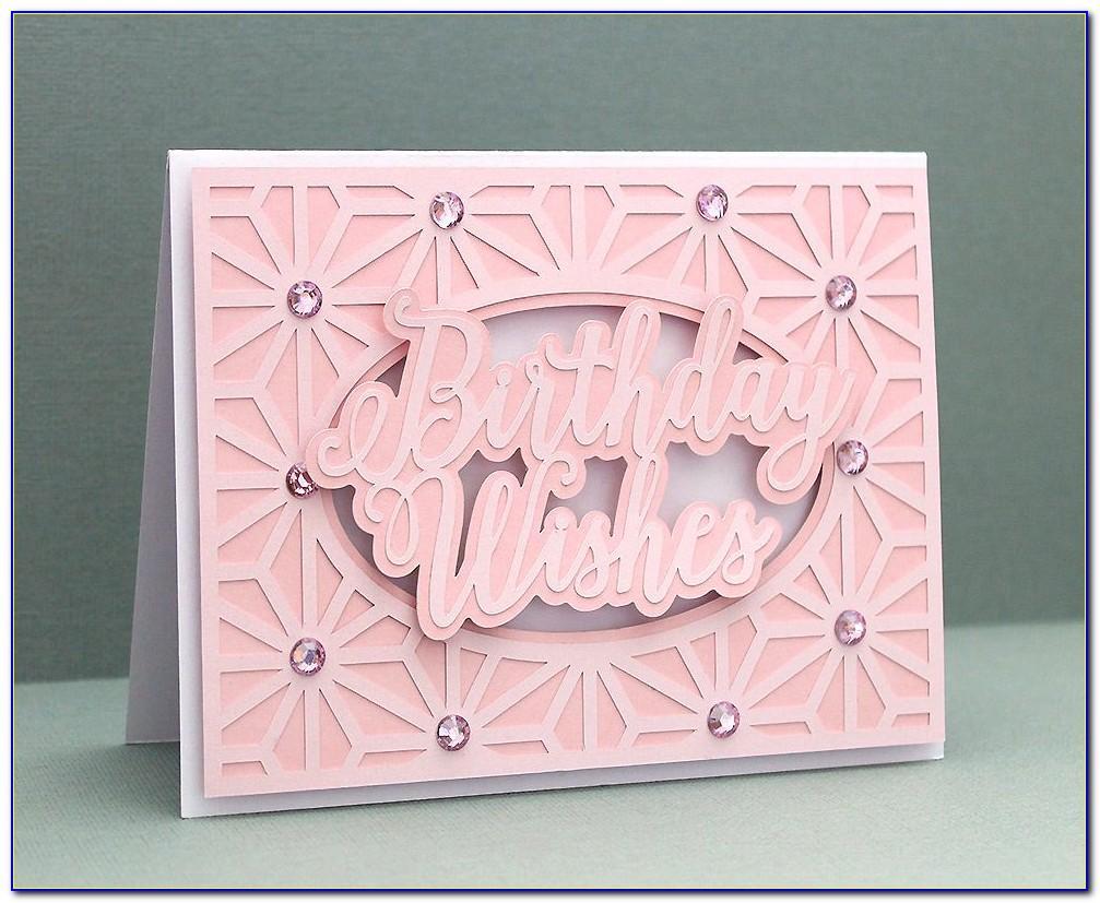 Birthday Card Svg Template