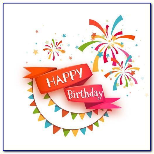 Birthday Card Vector File
