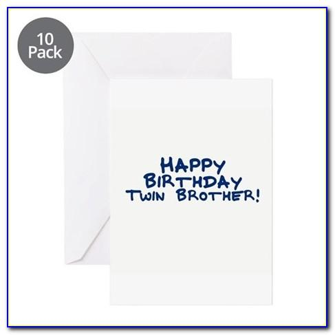 Birthday Card With Name Editing For Brother