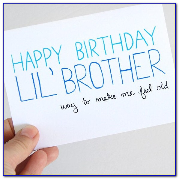 Birthday Cards For Brother In Law With Name