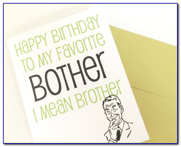 Birthday Cards For Brother With Name And Photo