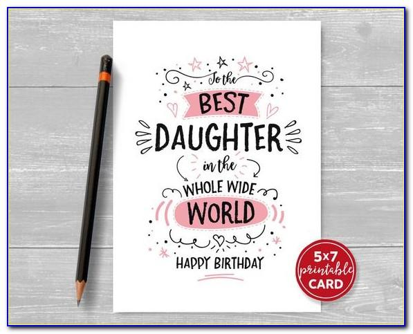 Birthday Greeting Cards For Daughter Free Download