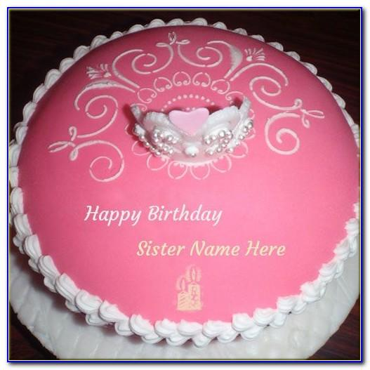 Birthday Greeting Cards For Sister With Name