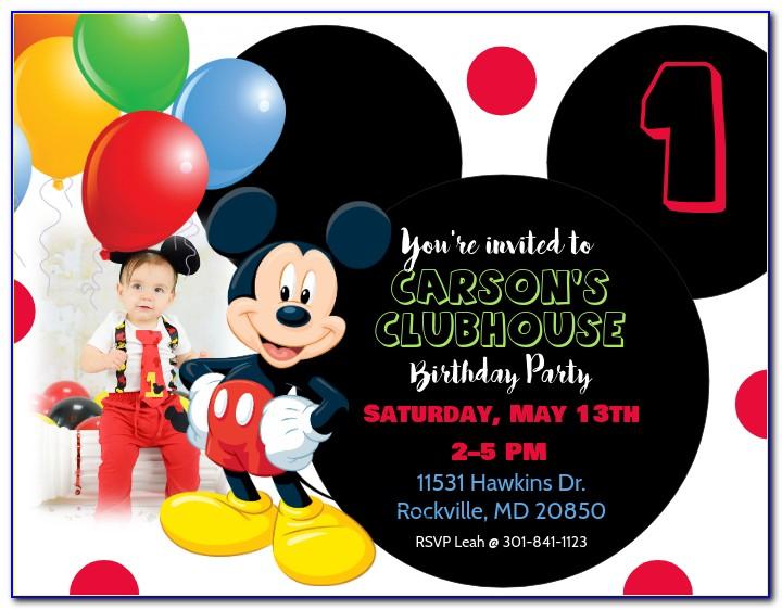 Birthday Invitation Card Design For Boy