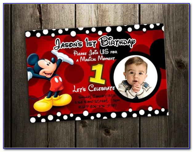 Birthday Invitation Card Design Psd