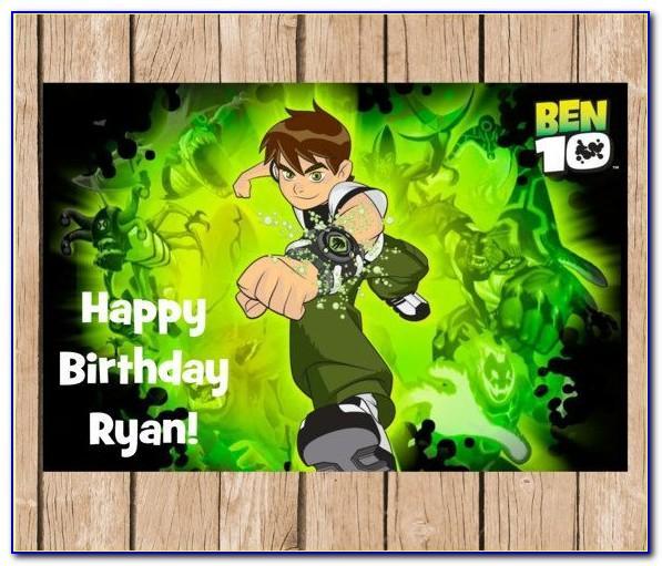 Birthday Invitation Card Download Free