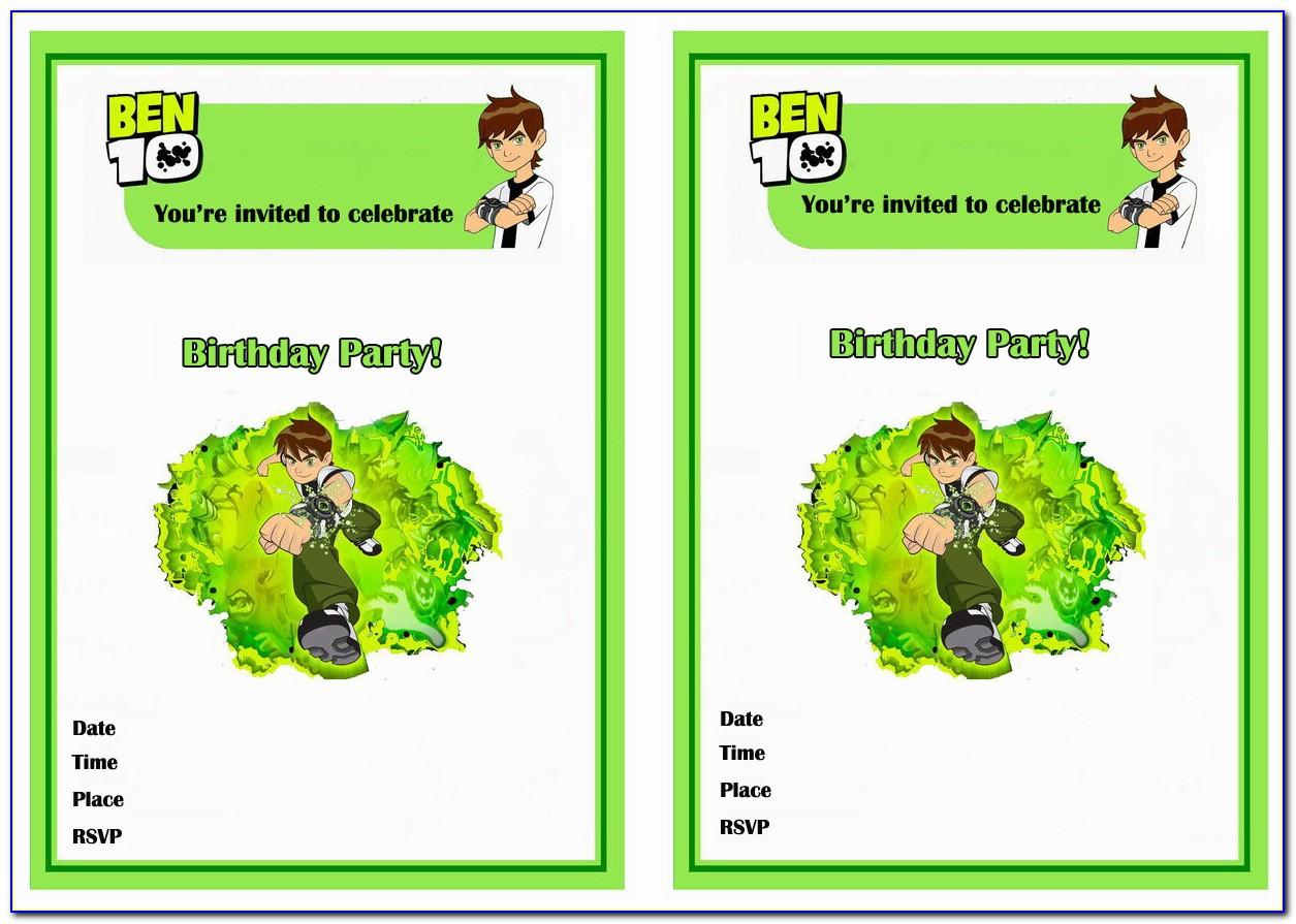 Birthday Invitation Card Download Images