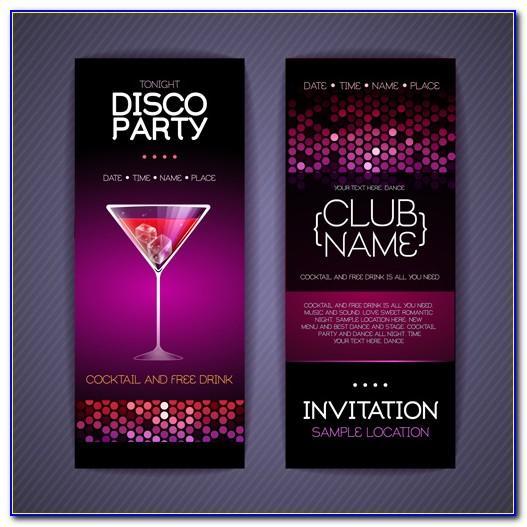 Birthday Invitation Card Psd Free Download