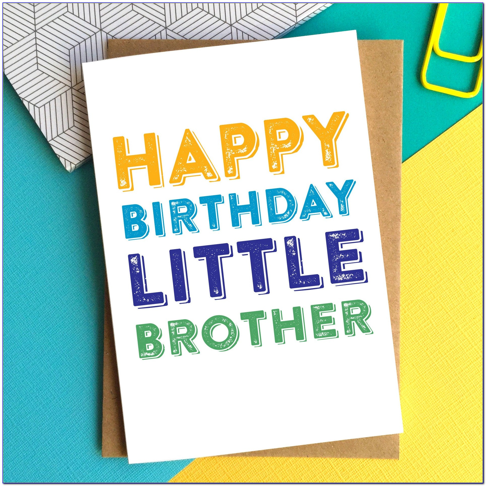 Birthday Wishes Cards For Brother With Name