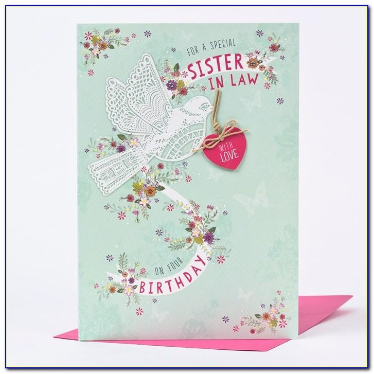 Birthday Wishes Cards For Sister In Law