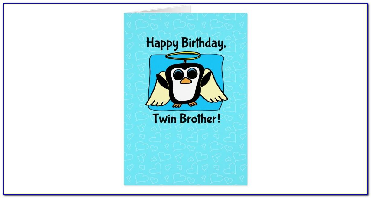 Birthday Wishes For My Twin Brother In Heaven