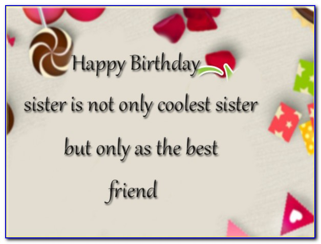 Birthday Wishes For Sister Images With Name Edit