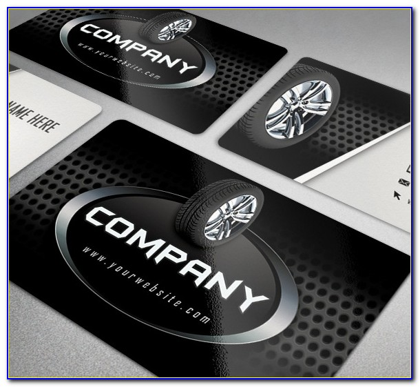 Black Metal Business Cards Canada