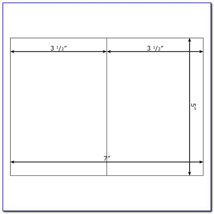 Blank Card Template Publisher