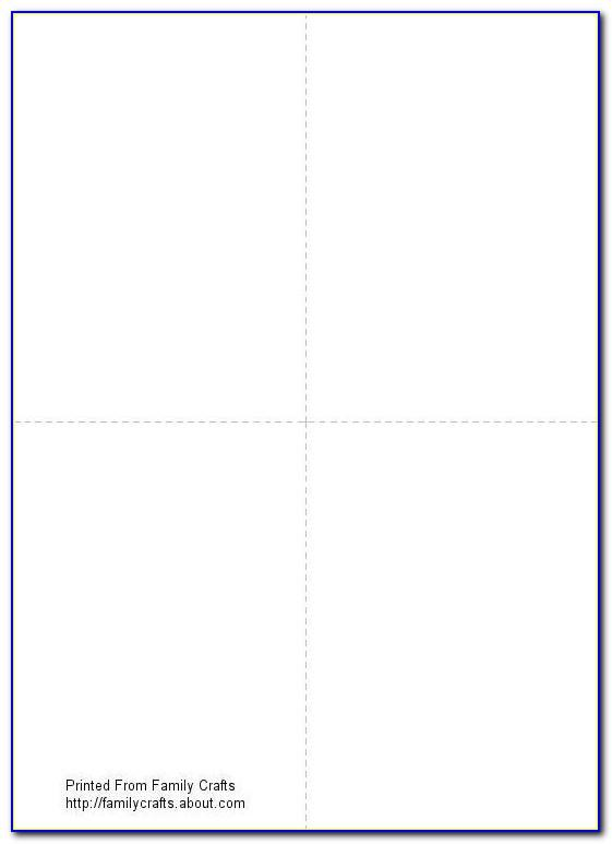 Blank Card Templates