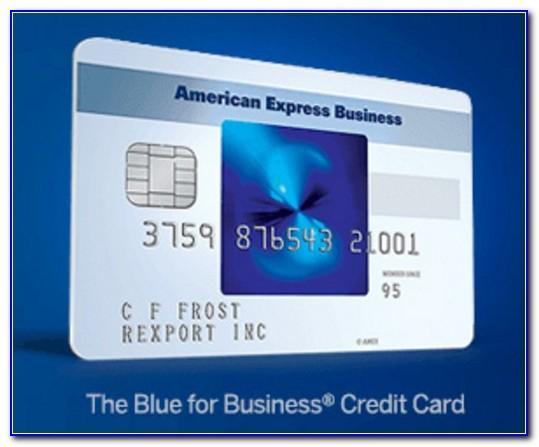 Blue Business Cash Card Amex
