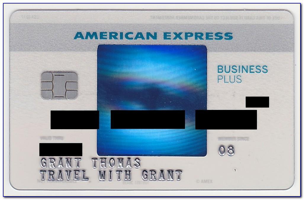 Blue Business Plus Credit Card Amex