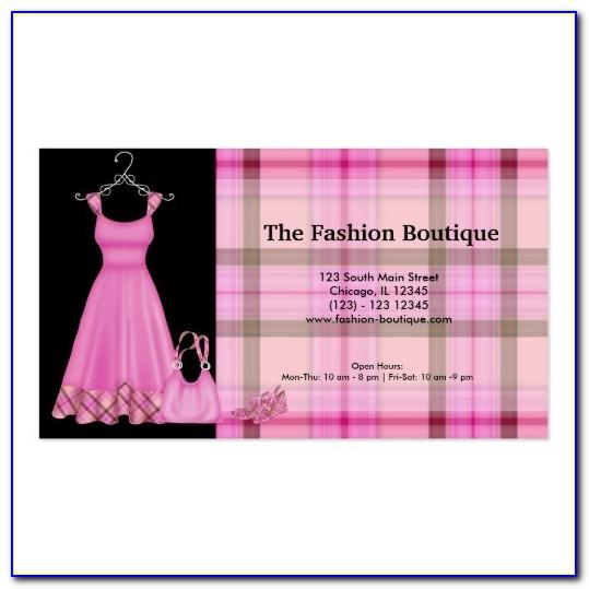 Boutique Visiting Card Templates