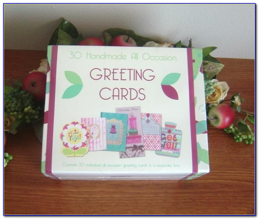 Box Of Assorted Greeting Cards For All Occasion