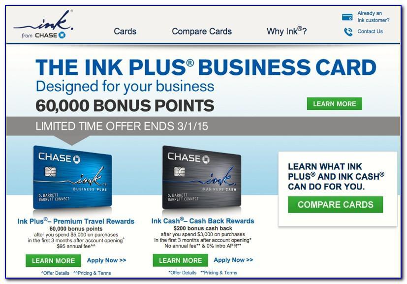 Business Card Bonus