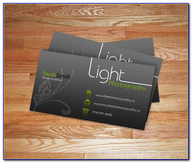 Business Card Design Templates Ppt