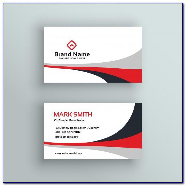 Business Card Design Vectors