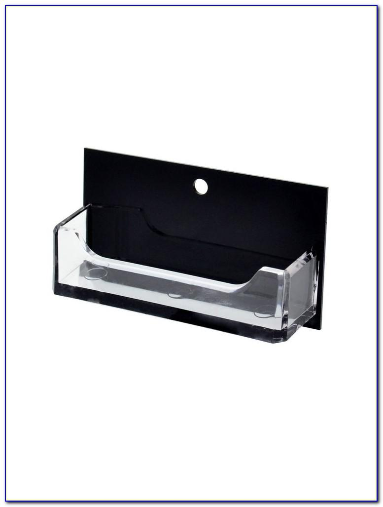 Business Card Holder Wall Mounted Display