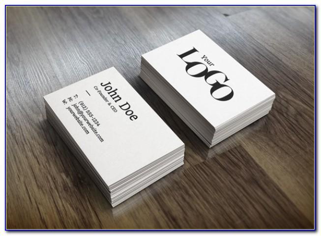 Business Card Mockup File Best