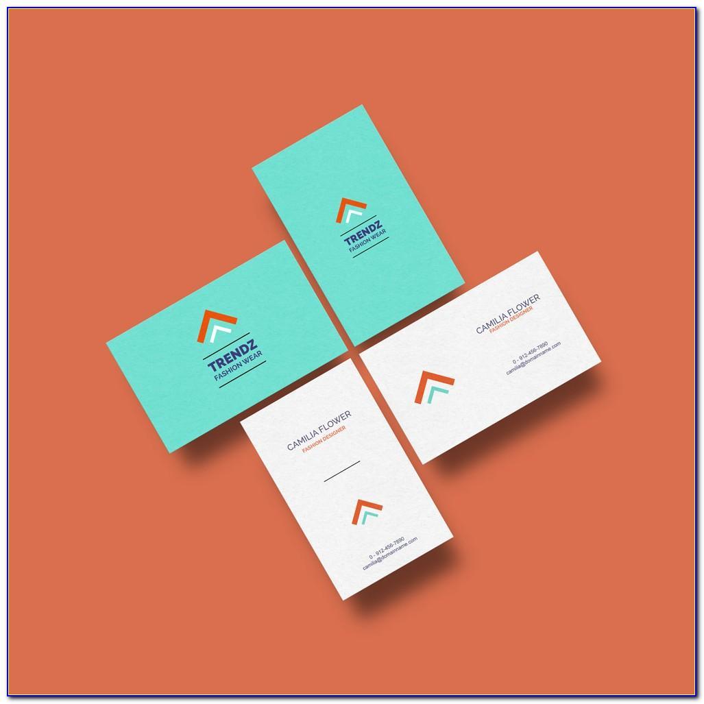 Business Card Mockup Pixeden