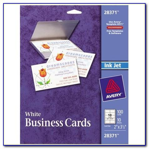 Business Card Sheets Staples