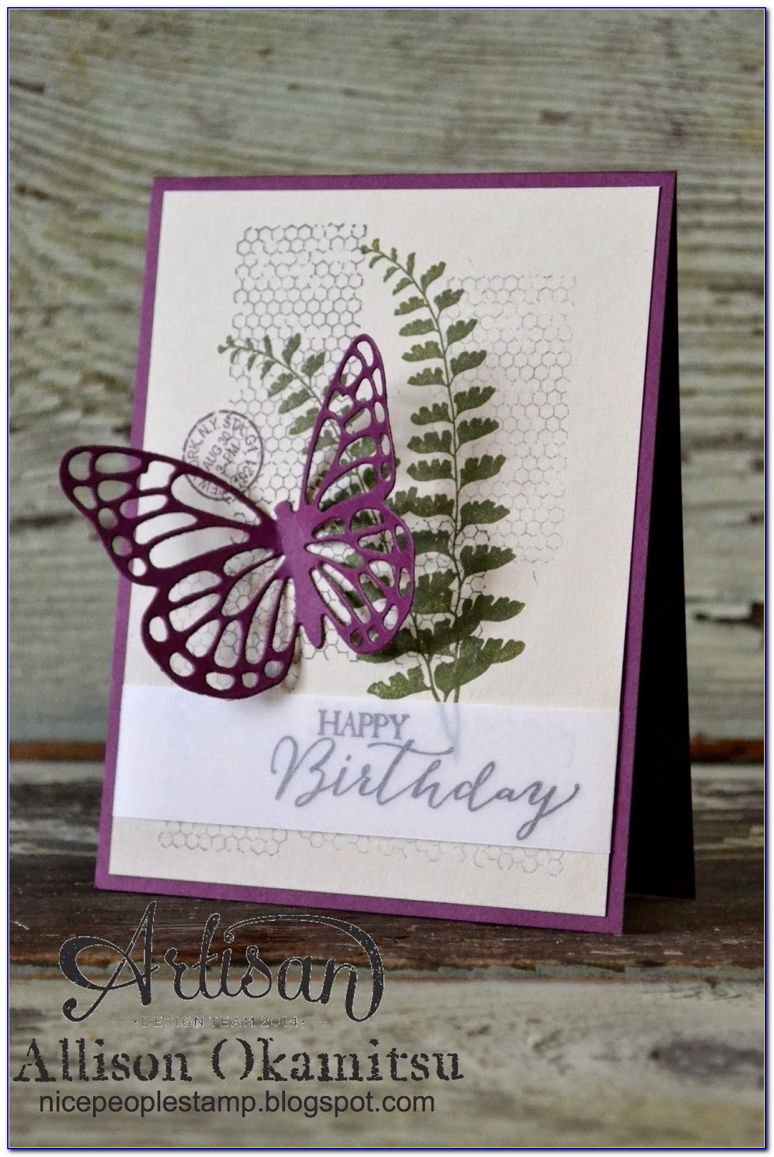 Butterfly Birthday Card Diy