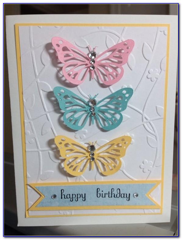 Butterfly Birthday Card Ideas